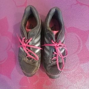 Adidas Pink & Gray Sneakers